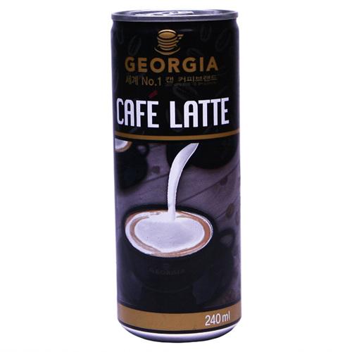조지아 커피 까페라떼(240ml)