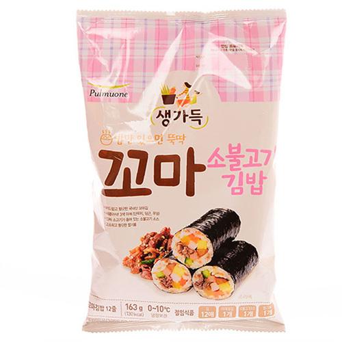 풀무원 찬불고기 꼬마김밥세트(137g)