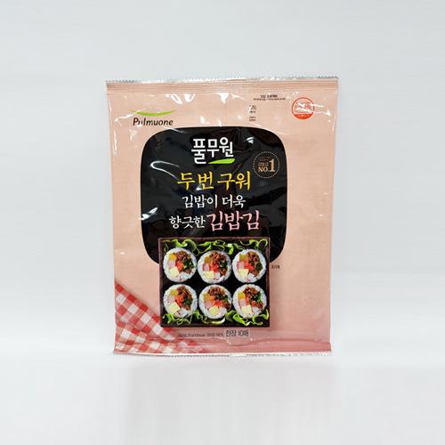 풀무원 두번구운 김밥김(20g)