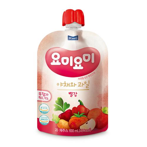 매일 요미요미 빨강야채와 과일(100ml*2입)