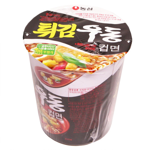농심 튀김우동컵면(62g)