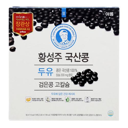 이롬 황성주 검은콩 고칼슘 두유(190ml*16입)
