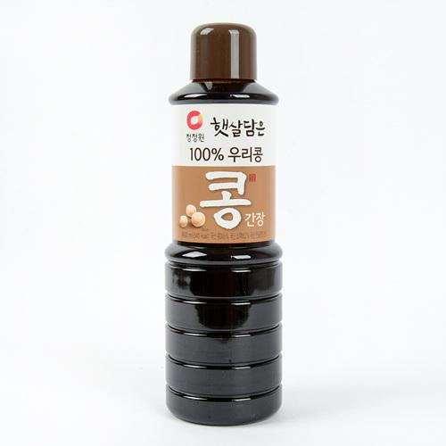 청정원 햇살담은 100% 우리콩 콩간장(900ml)