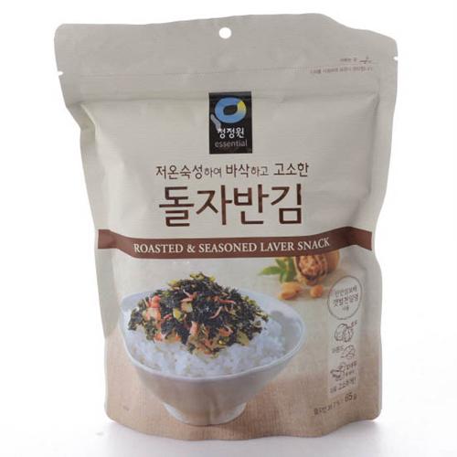 대상 청정원 저온숙성 돌자반김(65g)