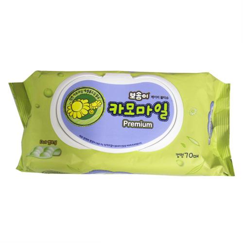 대한 보솜이 카모마일캡(70매)
