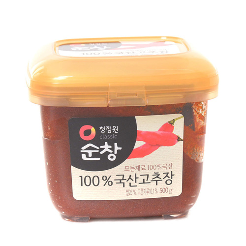순창고추로 만든우리쌀 고추장(500g)