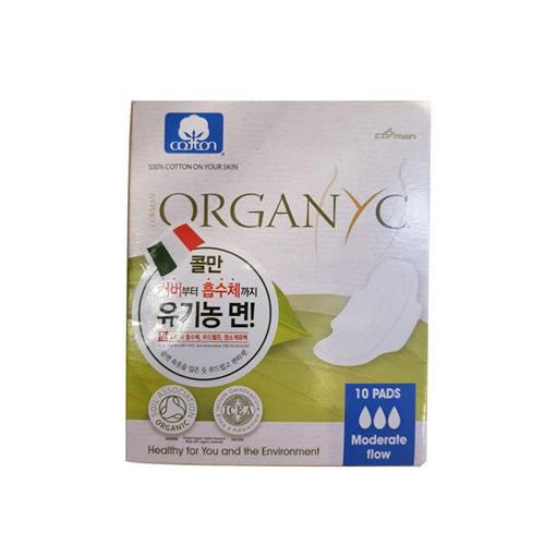 콜만 유기농 생리대 데이 날개형(중형_10p)