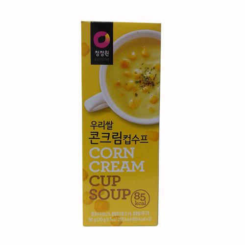대상 청정원 컵수프 콘크림(60g)