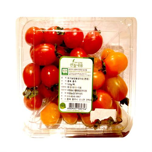 친환경 혼합 방울토마토(500g/팩)