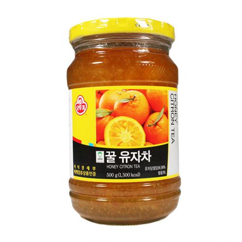 오뚜기 꿀유자차(500g)