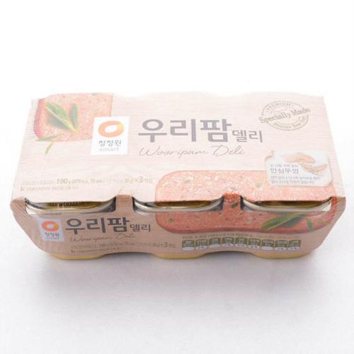 청정원 우리팜델리(190g*3입)
