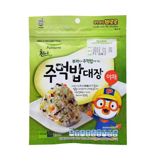 풀무원 주먹밥대장야채(30g)