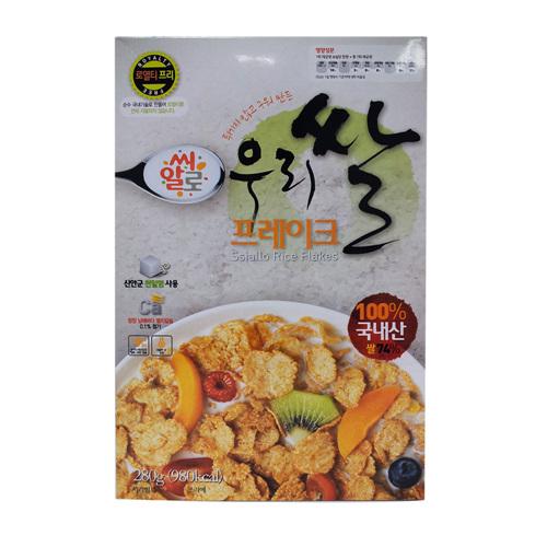 유기농산 우리쌀 프레이크(280g)