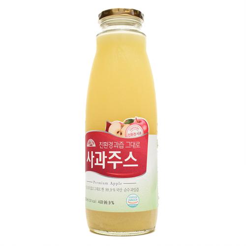 오가닉스토리 친환경과즙그대로 사과주스(1L)