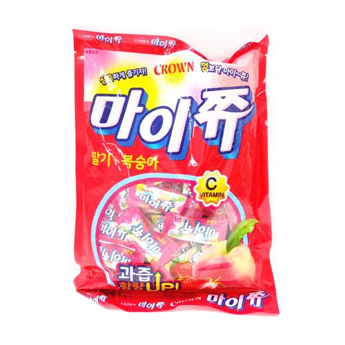마이쮸 딸기복숭아 (328g)