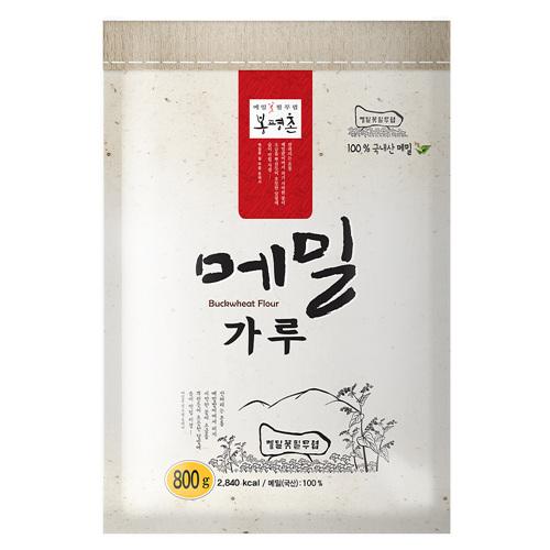 봉평촌 메밀가루(800g)