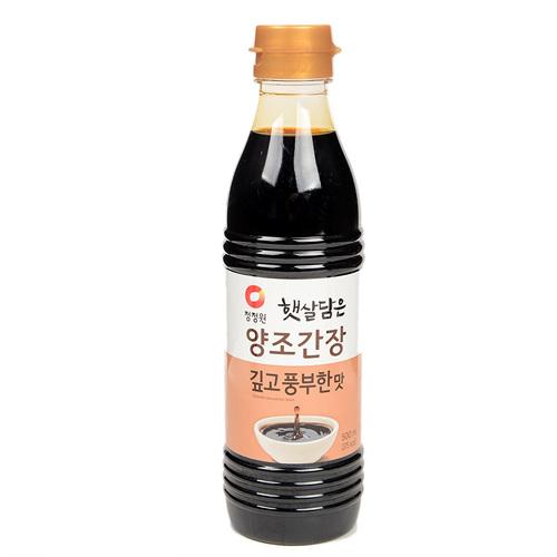 대상 햇살담은 양조간장 깊고 풍부한맛(500㎖)