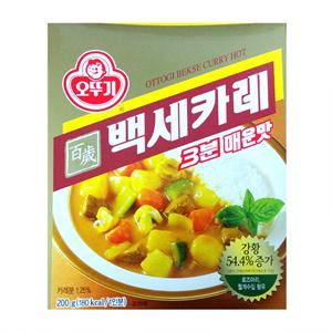 오뚜기 3분 백세카레 매운맛(220g)