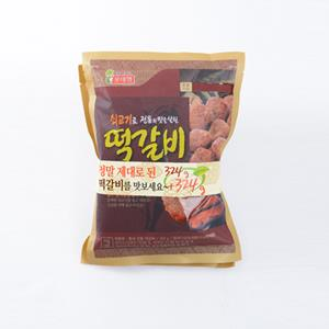 롯데햄 쇠고기떡갈비(324g+324g)