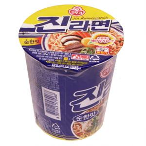 오뚜기 진라면컵순한맛(65g)