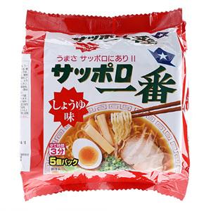 사뽀로 간장맛 라면(100g*5입)