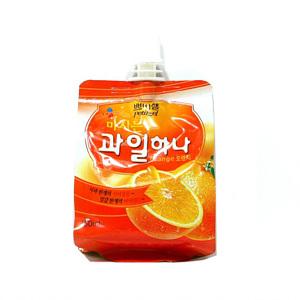 CJ 쁘띠첼 과일하나 오렌지맛(130ml)
