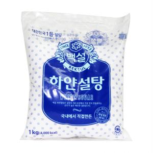 CJ 백설 하얀설탕(1kg)