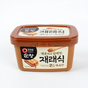 청정원 순창 재래식생된장(1kg)