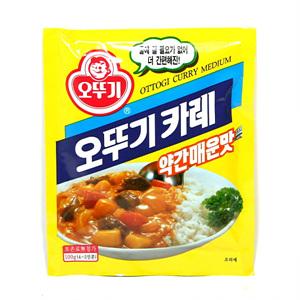 오뚜기 카레 약간매운맛(100g)