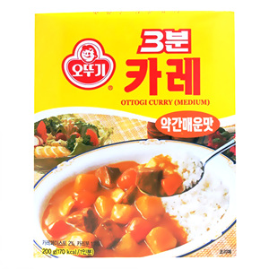 오뚜기 3분카레약간매운맛(200g)