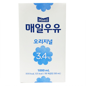 매일 멸균우유TP(1L)