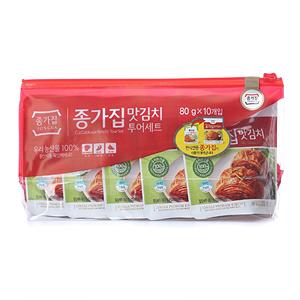 종가집 맛김치(80g*10)