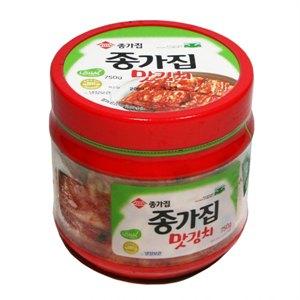 종가집 맛김치(펫)750g