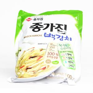 종가집 백김치(500g)