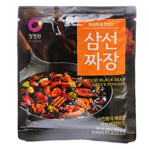 대상 청정원 포도씨유로 볶아만든 삼선짜장분말(100g)