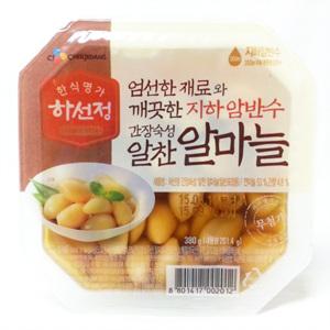 CJ 하선정 알 마늘 간장(380g)