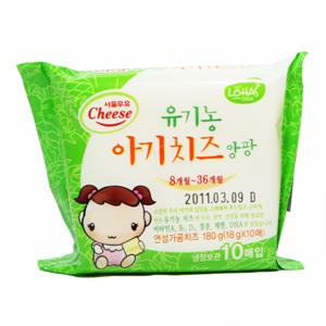 서울 유기농 아기치즈 앙팡2단계(180g)