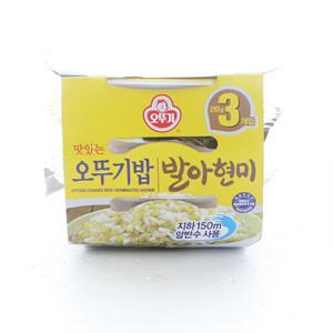 (DM) 오뚜기 맛있는 발아현미밥(210g*3입)