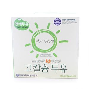 연세우유 고칼슘 두유(200ml*16입)