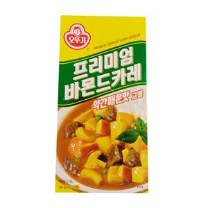 오뚜기 프리미엄 바몬드 카레 약간매운맛(240g)
