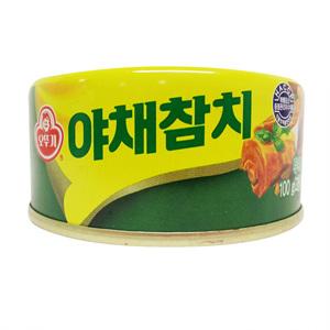 오뚜기 야채참치(100g)