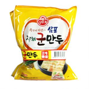 오뚜기 잡채 군만두(500g*2입)