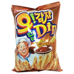 오리온 오감자 Dip양념바베큐맛L(144g)