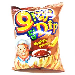 오리온 오감자 Dip 양념바베큐맛M(70g)