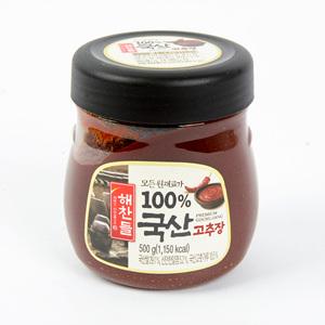 CJ 해찬들 100% 국산 고추장(500g)