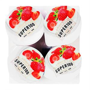 슈퍼100 프리미엄 딸기맛(85g*4입)
