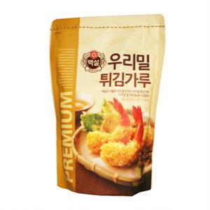 CJ 백설 우리밀 튀김가루(500g)