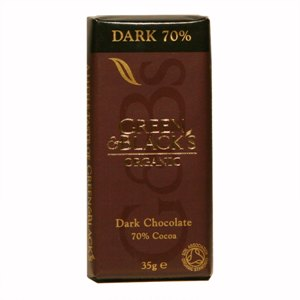 그린앤블랙 유기농 다크초콜릿(35g)