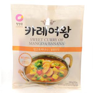 대상 카레여왕 망고&바나나 달콤한맛(108g)