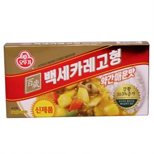 오뚜기 백세카레 고형 약간매운맛(240g)